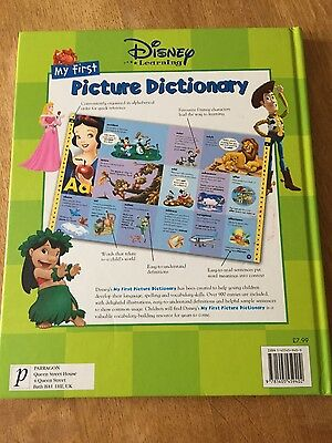 My first Disney picture dictionary