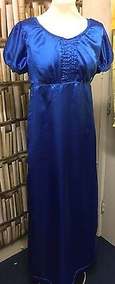 Regency Jane Austen Inspired Faux Satin Ball Gown. MAKE AN OFFER!