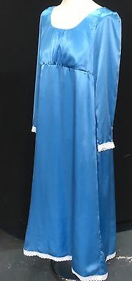 Regency Jane Austen Inspired 100% Silk Satin Gown. MAKE AN OFFER!