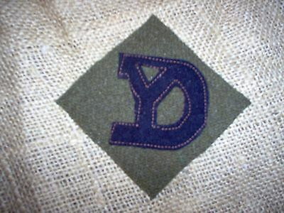 """WWI US Army patch 26th """"Yankee"""" Division patch AEF"""