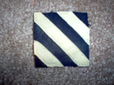 WWI US Army 3rd Division Patch AEF