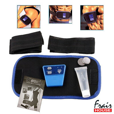Abgymnic Belt Abs Muscle Toning Six Pack Waist Fitness Gym Slimming Loose Pack