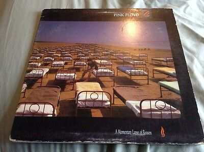 Pink Floyd - A Momentary Lapse of Reason Rare USA PROMO LP Stamped 0000