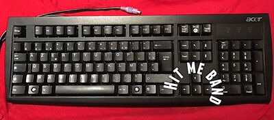 Clavier azerty filaire noir ACER KB 2971 PC Ps2 Keyboard