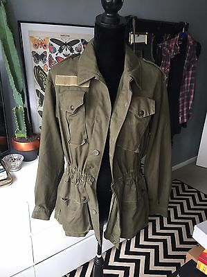 Vintage Reworked Army Jacket Urban Outfitters
