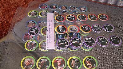 Star Trek The Next Generation - Paramount Pictures Inc Full Set Of 58 Pogs 1994