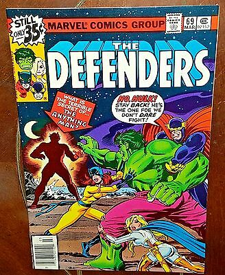 The Defenders #69, (1978, Marvel): The Anything Man!