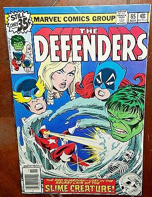 The Defenders #65, (1978, Marvel): Of Ambitions and Giant Amoebas!