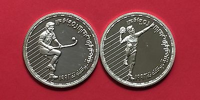 EGYPT -2 PROOF SILVER(The 25th of Olympic Games1992 ).high grade condition.