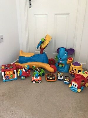 Baby Toddler Vtech Fisher Price Toy Bundle