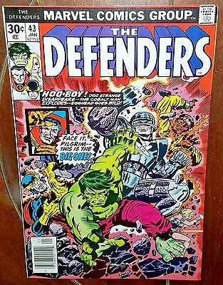 The Defenders #43, (1977, Marvel): This World is Mine!