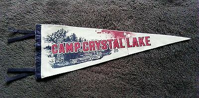 Friday the 13th Camp Crystal Lake Pennant Official