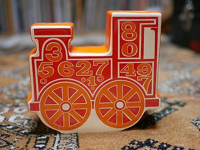 Carlton Ware Number Train Money Box - Superb condition