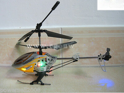 Yellow Length 28.5CM Remote Control Plane Helicopter Model Gift Children Toys