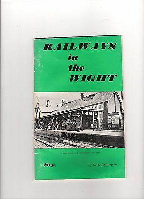 """railways In The Wight""   Steam Nostalgia On The Isle Of Wight   (Collectable)"