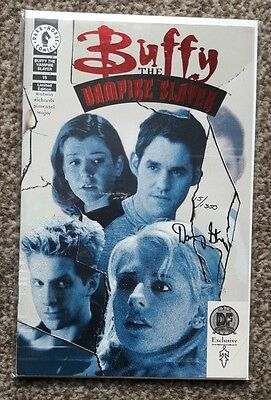 Buffy The Vampire Slayer #15 Red Foil Cover (Signed by Danny Strong) DARK HORSE