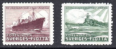 SWEDEN – Charity Labels, Ships
