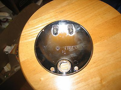 Used Genuine Harley-Davidson Bt Touring Chrome Console Fuel Door Cover