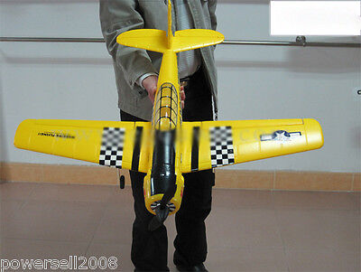 Yellow Length 74CM Remote Control Plane Fixed Wing Glider Model Children Toys