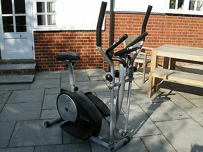 York Fitness XC530 combined Cross Trainer &  Exercise Cycle