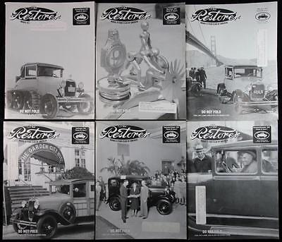 6 Issues The Restorer the Magazine for Model A Ford Enthusiasts Complete 2003