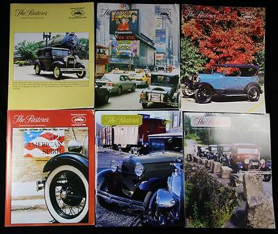6 Issues The Restorer the Magazine for Model A Ford Enthusiasts Complete 2000