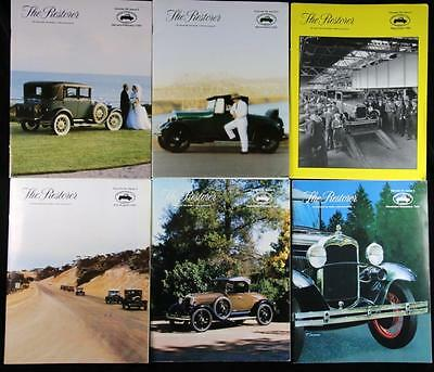 6 Issues The Restorer the Magazine for Model A Ford Enthusiasts Complete 1994