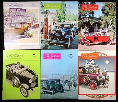 6 Issues The Restorer the Magazine for Model A Ford Enthusiasts Complete 1975