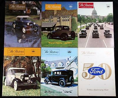 6 Issues The Restorer the Magazine for Model A Ford Enthusiasts Complete 1977