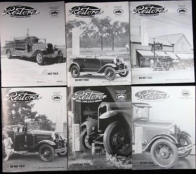 6 Issues The Restorer the Magazine for Model A Ford Enthusiasts Complete 2004