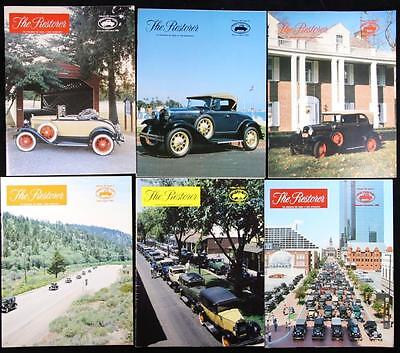 6 issues The Restorer the Magazine for Model A Ford Enthusiasts Complete 1985