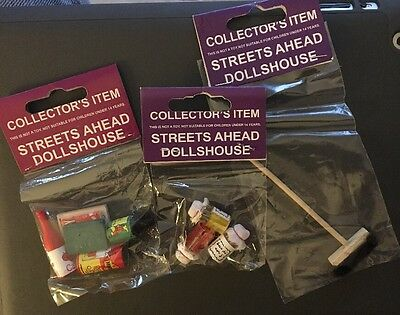 Streets Ahead Dolls house Accessories