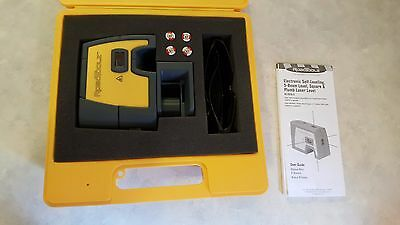 RoboToolz Self Leveling 5-Point  Beam Laser Level with Case FAST FREE SHIPPING