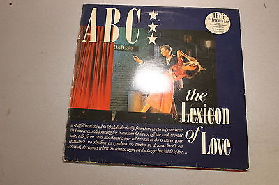 LP Vinyl - ABC ‎– The Lexicon Of Love