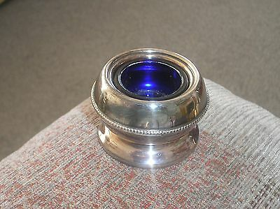 Silver Plated Mustard Pot