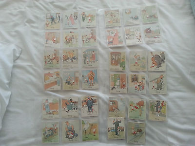 Henry. 3rd, 4th and 5th sets in sleeves. Wix Kensitas cigarette cards 100 cards