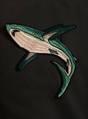 Florida Sea Base * Shark Patch With Fdl On Fin