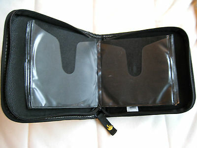 Case Logic DVD or CD Wallet Case - Zippers securely, holds 20x discs