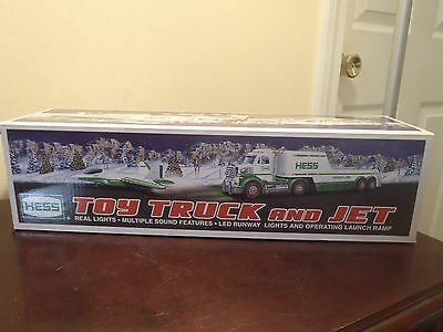 2010 Hess Toy Truck And Jet. With Lights & Sound. New In Box