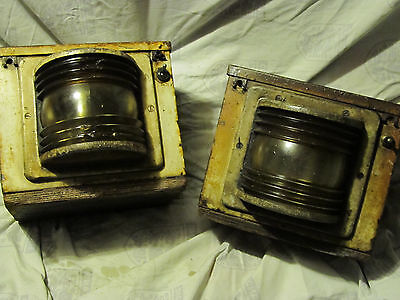 Vintage Electrical / Battery Lamps  ( Maybe Military )