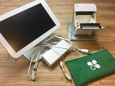 Used Clover POS System No cash draw. Point of sale! With swivel  screen! Retail