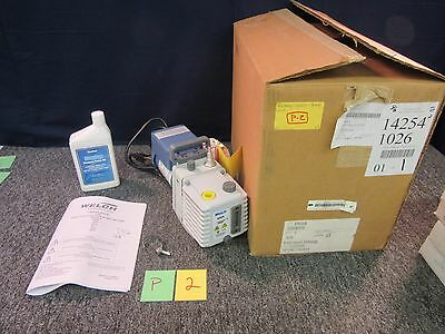 Welch 8905 Rotary Vacuum Pump Lab Laboratory Centrifugal Concentrators Oven New