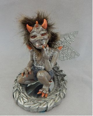Crumpe Gargoyle Elf OOAK Fairy Fairies Sculpture Art Doll NEW Handmade Figurine
