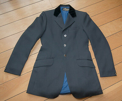 Saddlemaster mens /youths navy competition, riding, hunting  jacket - Size 36/38