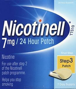 Nicotinell tts 10 patches + patient support material 7mg/24hrs 7 pack