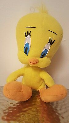 "Tweety Bird 9"" Looney Tunes 1995 ACE Novelty plush stuffed toy Warner Brothers"