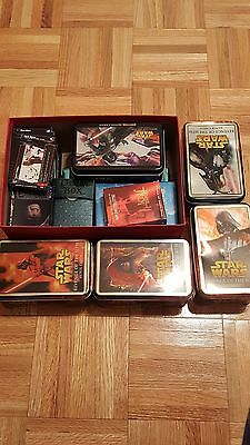 Star Wars Trading Card Collection - Featuring 100s of Cards