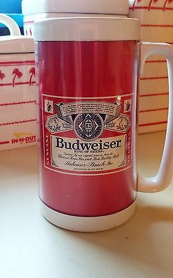 Vintage - Budweiser Beer - Thermo Serv Insulated Mug - #3 - Excellent