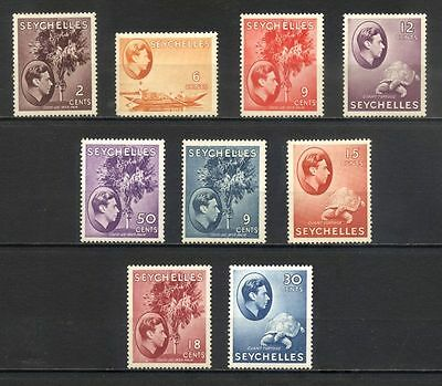 SEYCHELLES - lot de timbres neufs George V - 1938/41