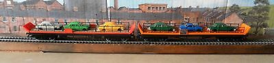 2 unboxed Hornby car transporters